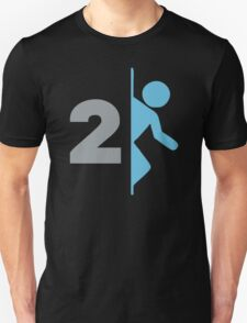 Portal 2 Game Logo T-Shirt