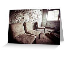 A Long Wait ~ Pripyat  Greeting Card
