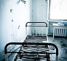 Bed Rest ~ Pripyat  by Josephine Pugh