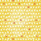 yellow little hearts by demonique