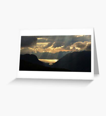 Ballachulish Bridge, Glencoe Greeting Card