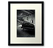 Piano ~ Pripyat  Framed Print