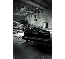 Piano ~ Pripyat  Photographic Print