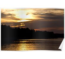 Early Spring Sunset Poster