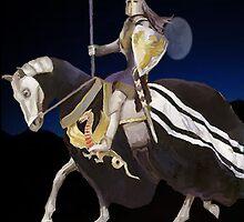 Knight at Night by John Ryan