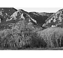 Boulder Colorado Front Range NCAR View Photographic Print