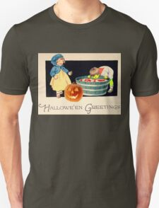 Little Zombie Tommy  (Vintage Halloween Card) T-Shirt