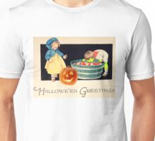 Little Zombie Tommy  (Vintage Halloween Card) Unisex T-Shirt