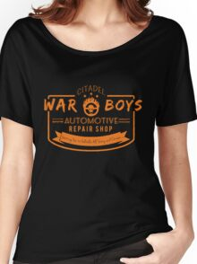 War Boys Auto Repair Women's Relaxed Fit T-Shirt