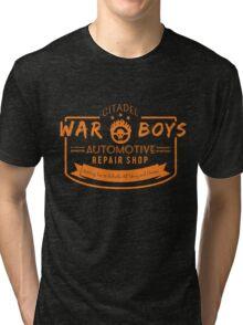 War Boys Auto Repair Tri-blend T-Shirt