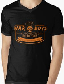 War Boys Auto Repair Mens V-Neck T-Shirt