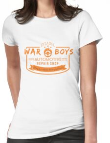 War Boys Auto Repair Womens Fitted T-Shirt
