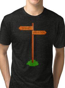 Choose your way Tri-blend T-Shirt