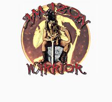 Amazon Warrior Womens Fitted T-Shirt
