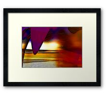 The irresistible sound of colours Framed Print