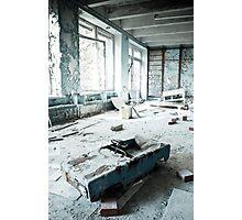 Scrapyard ~ Pripyat  Photographic Print