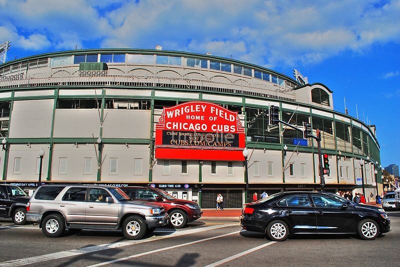 Wrigley Field by tmbolle