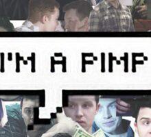 I'm A Pimp Sticker