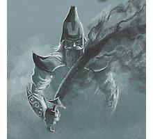 fog sword warrior Photographic Print