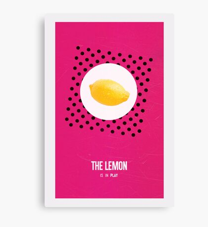 Cabin Pressure: The Lemon is in Play Canvas Print