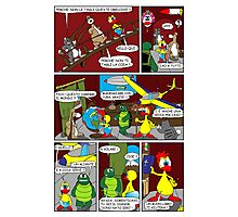 "Rick the chick  ""THE MAGIC SHELL (ITALIANO) parte 13"" Photographic Print"