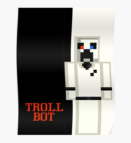 Scarface - Trollbot Edition - On Paper! Poster
