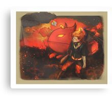Care for you and Cry for you - [Mother 3] Canvas Print