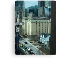 Victoriana in the City Canvas Print