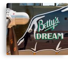 Betty's Dream Canvas Print