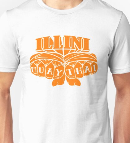 Illini Muay Thai - Fists Unisex T-Shirt