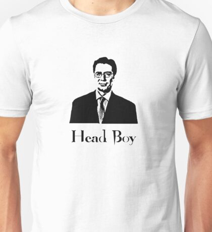 Apparantly when Percy here was younger, he used to be known as headboy!  Unisex T-Shirt