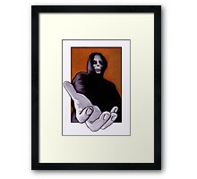 Death Goes In Fear of What It Cannot Be Framed Print