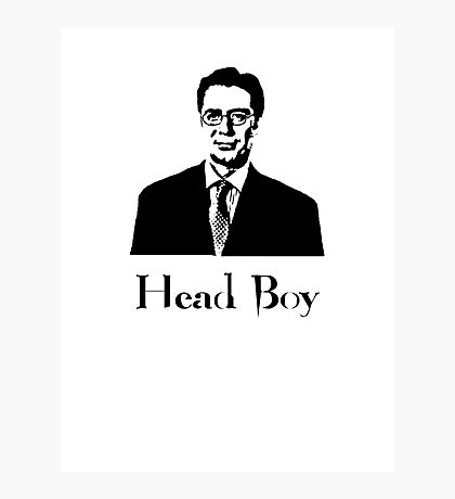 Apparantly when Percy here was younger, he used to be known as headboy!  Photographic Print