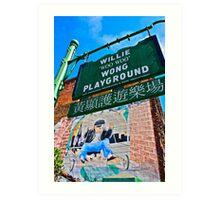 Willie Wong Playground Art Print
