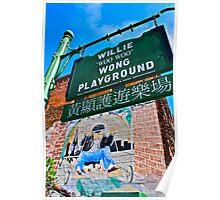 Willie Wong Playground Poster