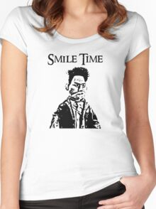 Smile Time Women's Fitted Scoop T-Shirt
