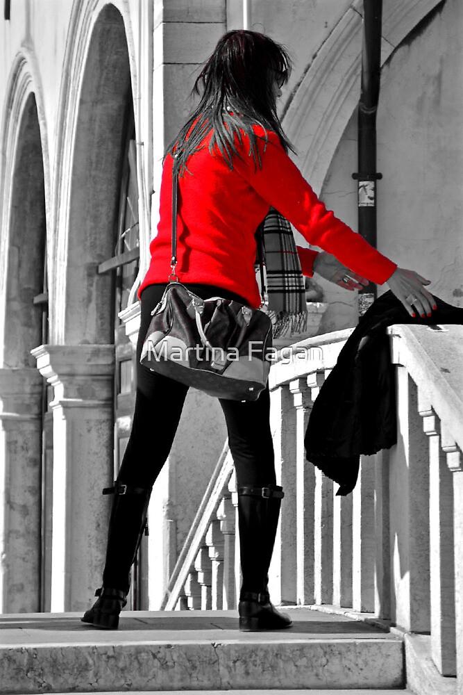 Red Jumper by Martina Fagan