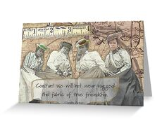 Four Friends Greeting Card