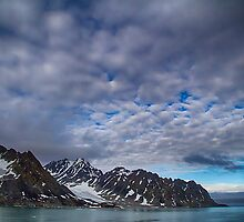 Svalbard Mountains by Marylou Badeaux