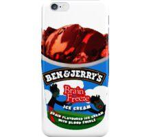Brain Freeze Ice Cream iPhone Case/Skin