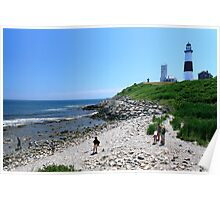 Montauk Point, Long Island Poster