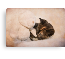 Seriously cute! Canvas Print