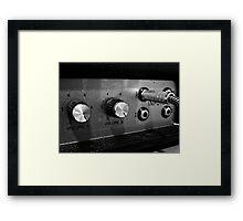 Marshall Amp #1 Framed Print