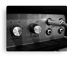 Marshall Amp #1 Canvas Print