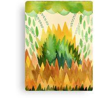 Green Mountain. Canvas Print