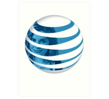 The AT&T of People Art Print