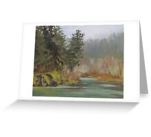 Winter at Swiftwater Greeting Card