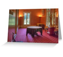 The Little Drawing Room, Vaucluse House, Sydney, NSW Greeting Card