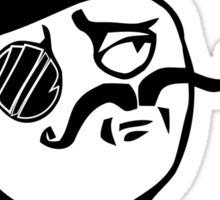 monocle meme Sticker