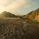 Branscombe Beach Vista  by Rob Hawkins